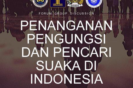 Besok Hari Ditjen Imigrasi Adakan FGD: Penanganan Pengungsi dan Pencari Suaka di Indonesia